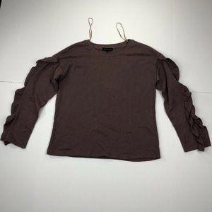 Socialite Women's Small Purple Long Sleeve Sweater